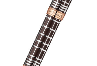 Перьевая ручка Parker Sonnet F531 PREMIUM Masculine, цвет: Brown PGT, арт. 1859480